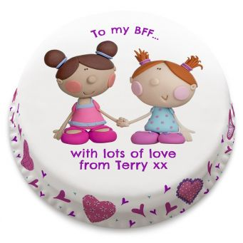 To My BFF Cake