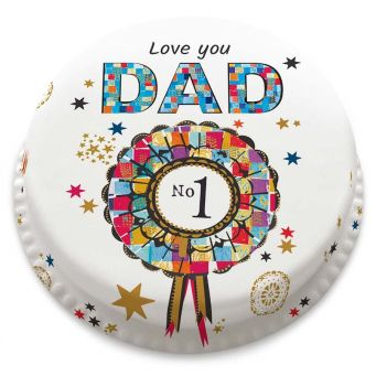Starry No.1 Dad Cake