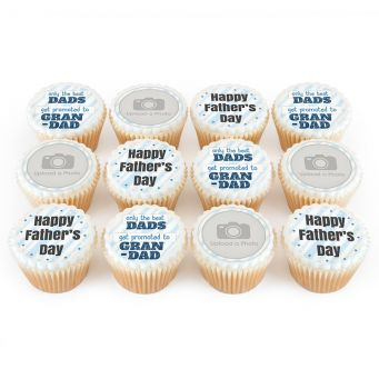 12 Dad Promotion Cupcakes