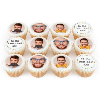 12 Best Moustache Cupcakes