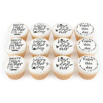 12 Like A Father Cupcakes- canccelled