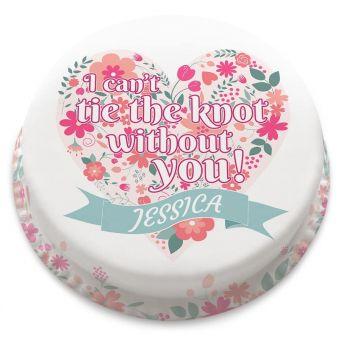 Wedding Invitation Cake