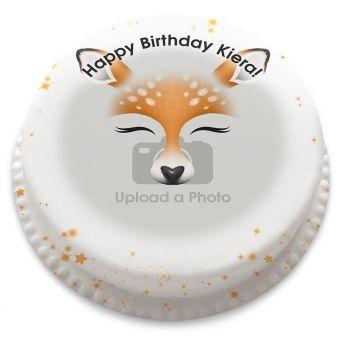 Deer Filter Photo Cake