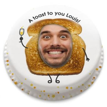 Toast Photo Cake