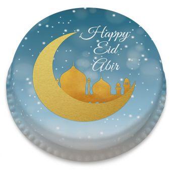 Eid Silhouette Cake