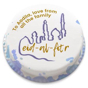 Painted Eid Cake