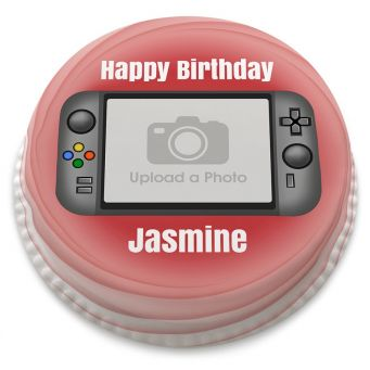 Handheld Game Photo Cake