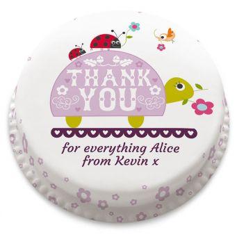 Thank You Turtle Cake