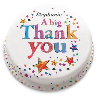 A Big Thank You Cake