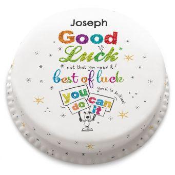 Best of Luck Cake