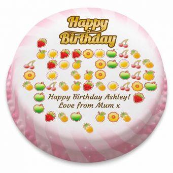 Candy Game Cake