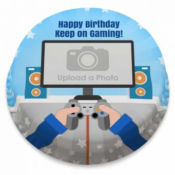 Gaming Photo Cake