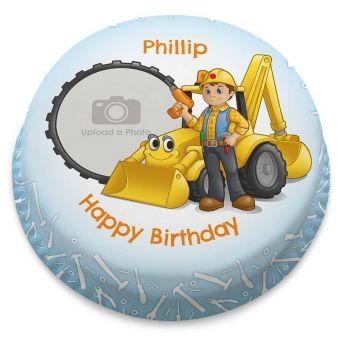 Builder Photo Cake