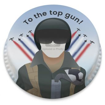 Top Gun Photo Cake