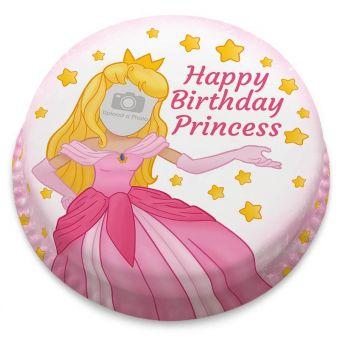 Pink Princess Photo Upload