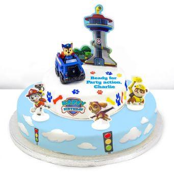 Paw Patrol Tiered Cake