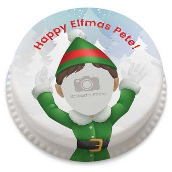 Elf Yourself Photo Cake