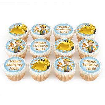 12 Builder Cupcakes