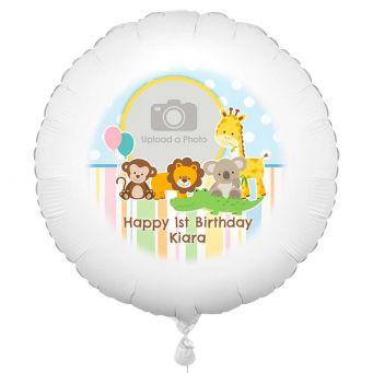 Jungle Animals Photo Balloon