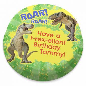 T-Rex-Ellent Birthday Cake