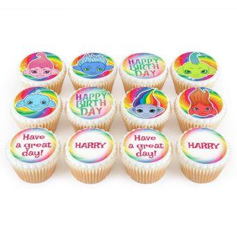 12 Gremlin Cupcakes