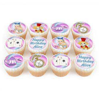 12 Tea party Cupcakes