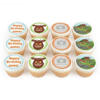 12 Forest Monster Cupcakes