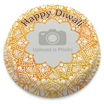 Diwali Photo Cake