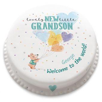 New Grandson Cake