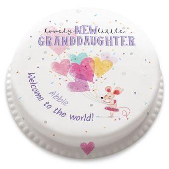 New Granddaughter Cake