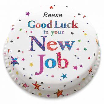 Good Luck New Job Cake