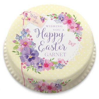 Easter Lace Cake