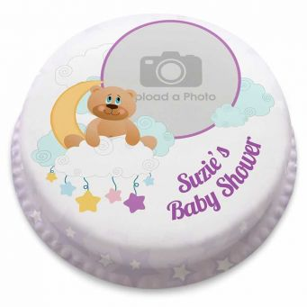 Moon Bear Photo Cake
