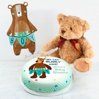 It's a Boy Teddy Gift Set