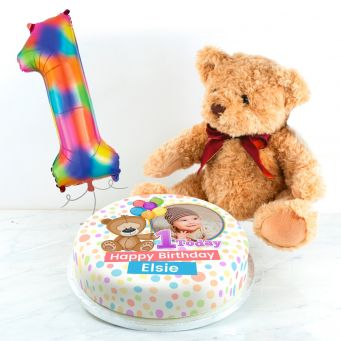 Teddy's First Birthday Gift Set