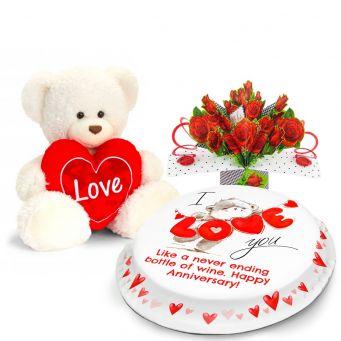 Love Bear Gift Set