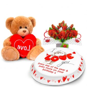 Love You Bear Gift Set