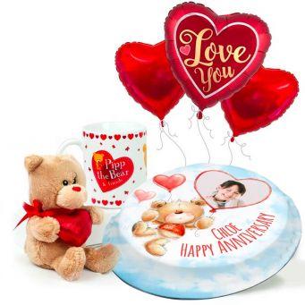 Teddy in a Mug Gift Set