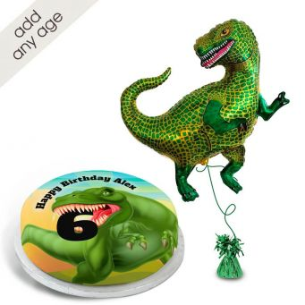 T-Rex Number gift set