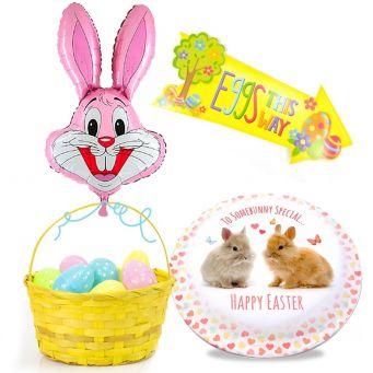 Pink Bunny Gift Set