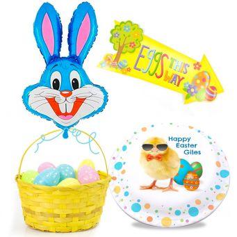 Blue Bunny Gift Set