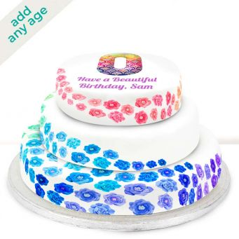 Any Age Fancy Tiered Cake