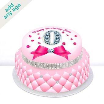 Any Age Diamond Tiered Cake