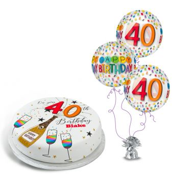 40th Birthday Sparkle Gift Set