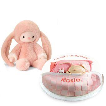 Pink Blanket Gift Set