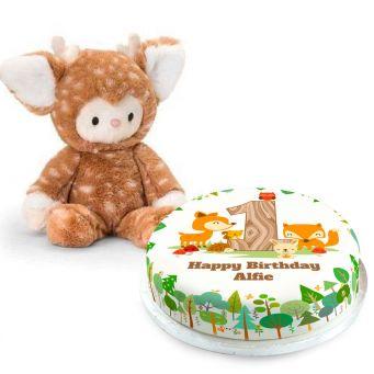 1st Birthday Deer Gift Set