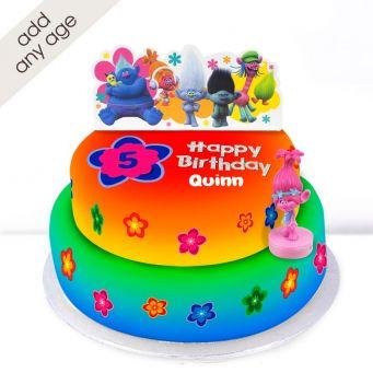 Any Age Trolls Cake