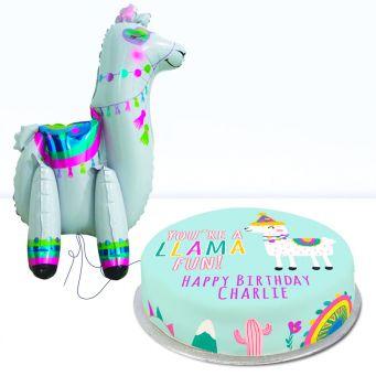 Llama Fun Birthday Gift Set