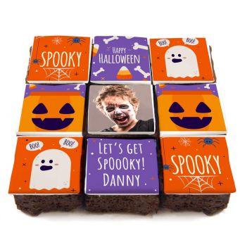 Spooky Halloween Brownies