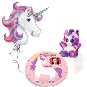 Purple Unicorn Gift Set